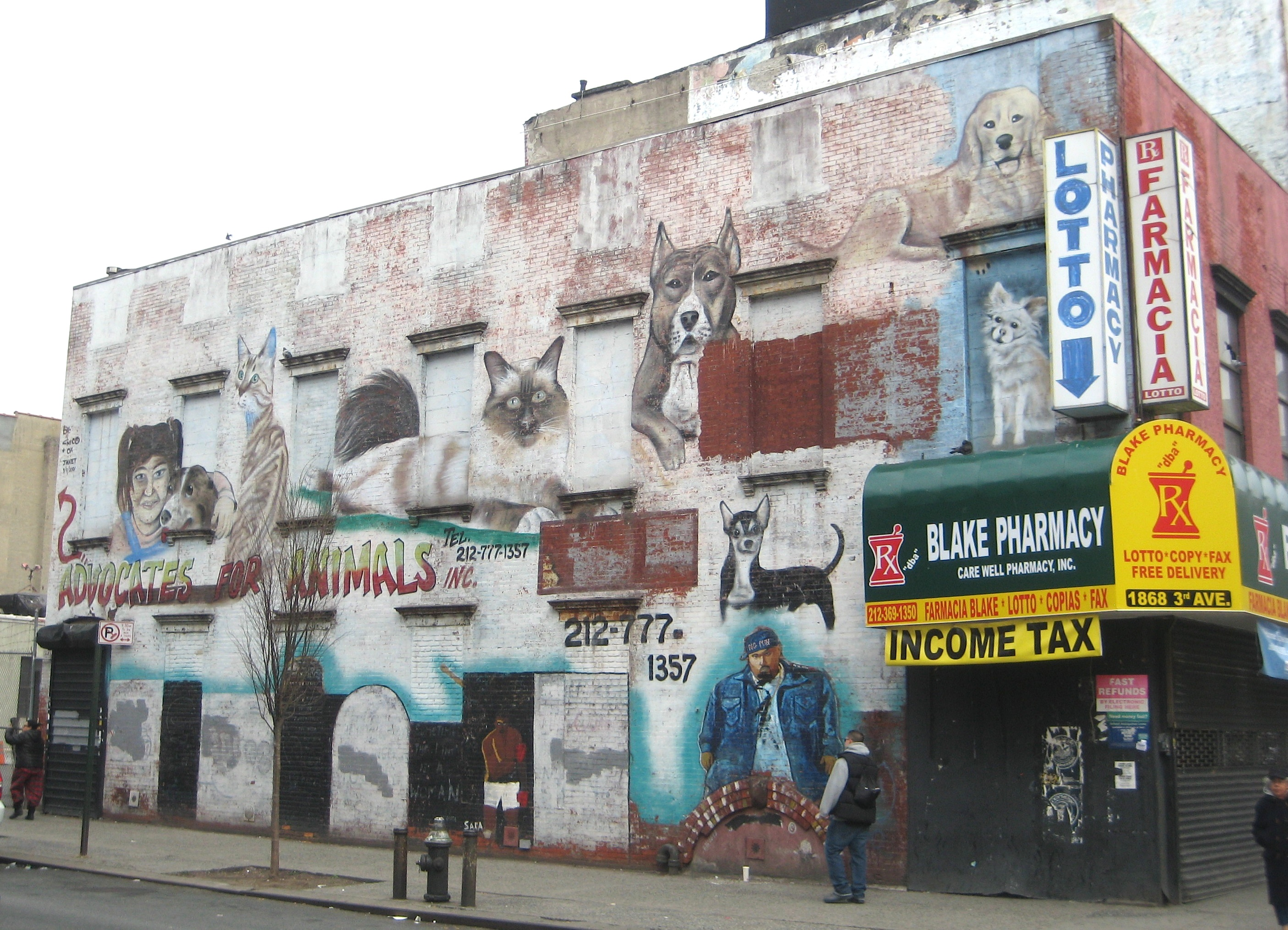 East Harlem Street Ephemeral New York