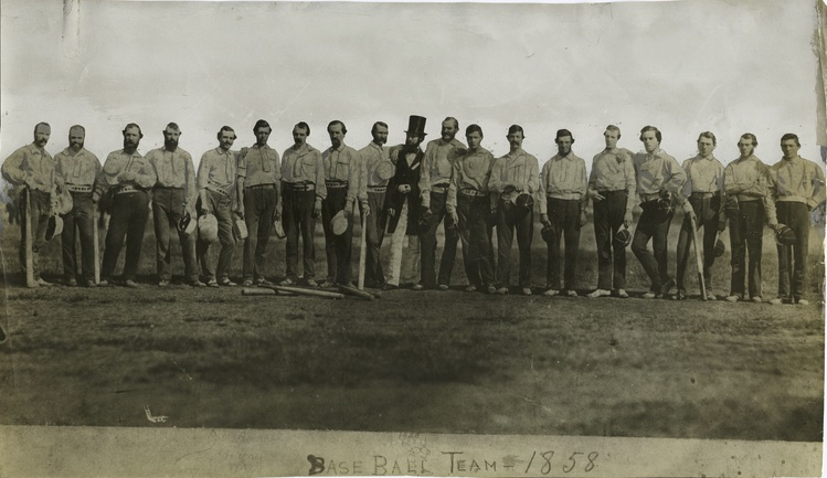 First Baseball Uniform Knickerbockers