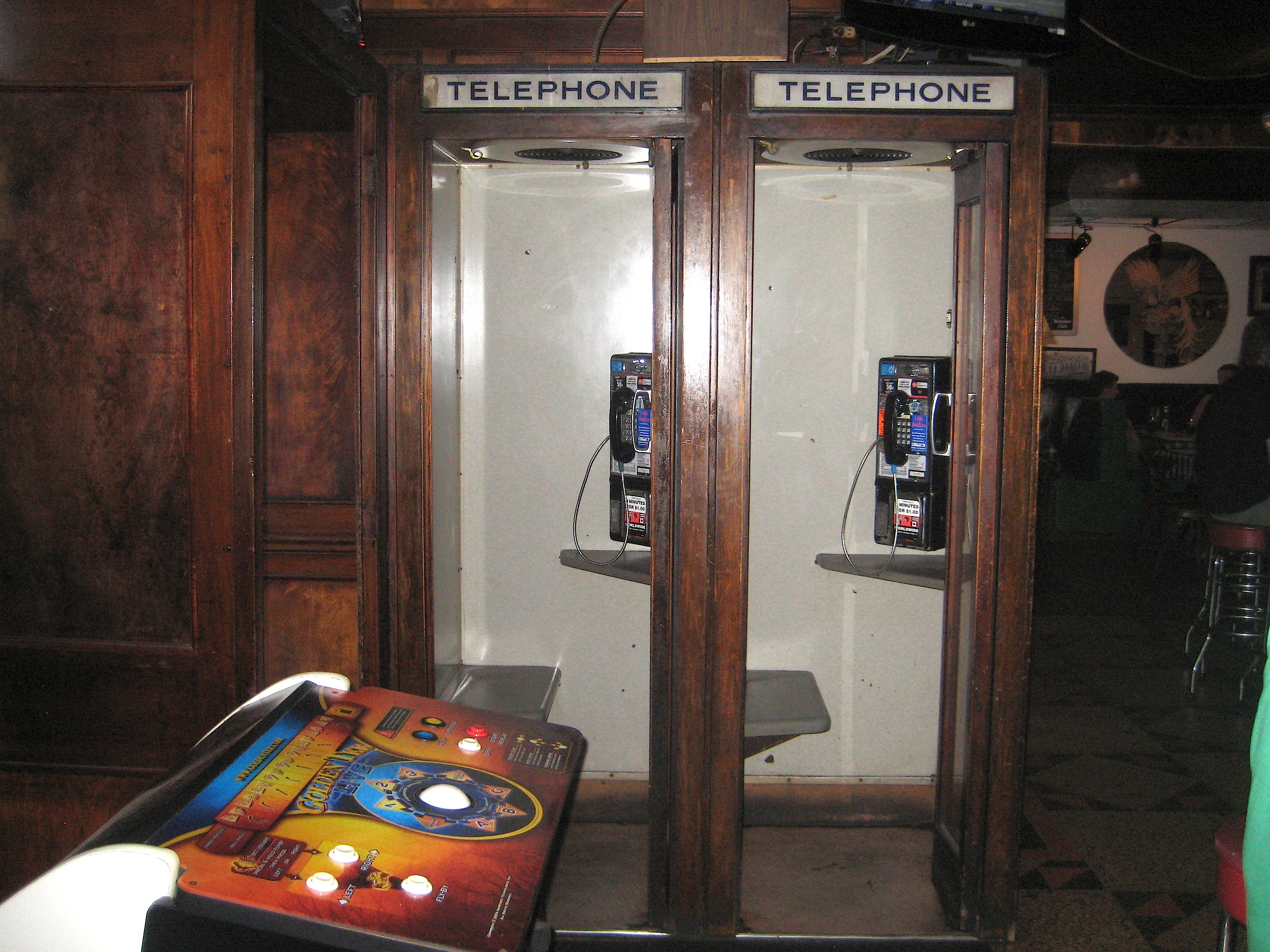 Wooden phone booths | Ephemeral New York