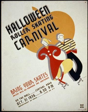 1936 WPA Halloween poster