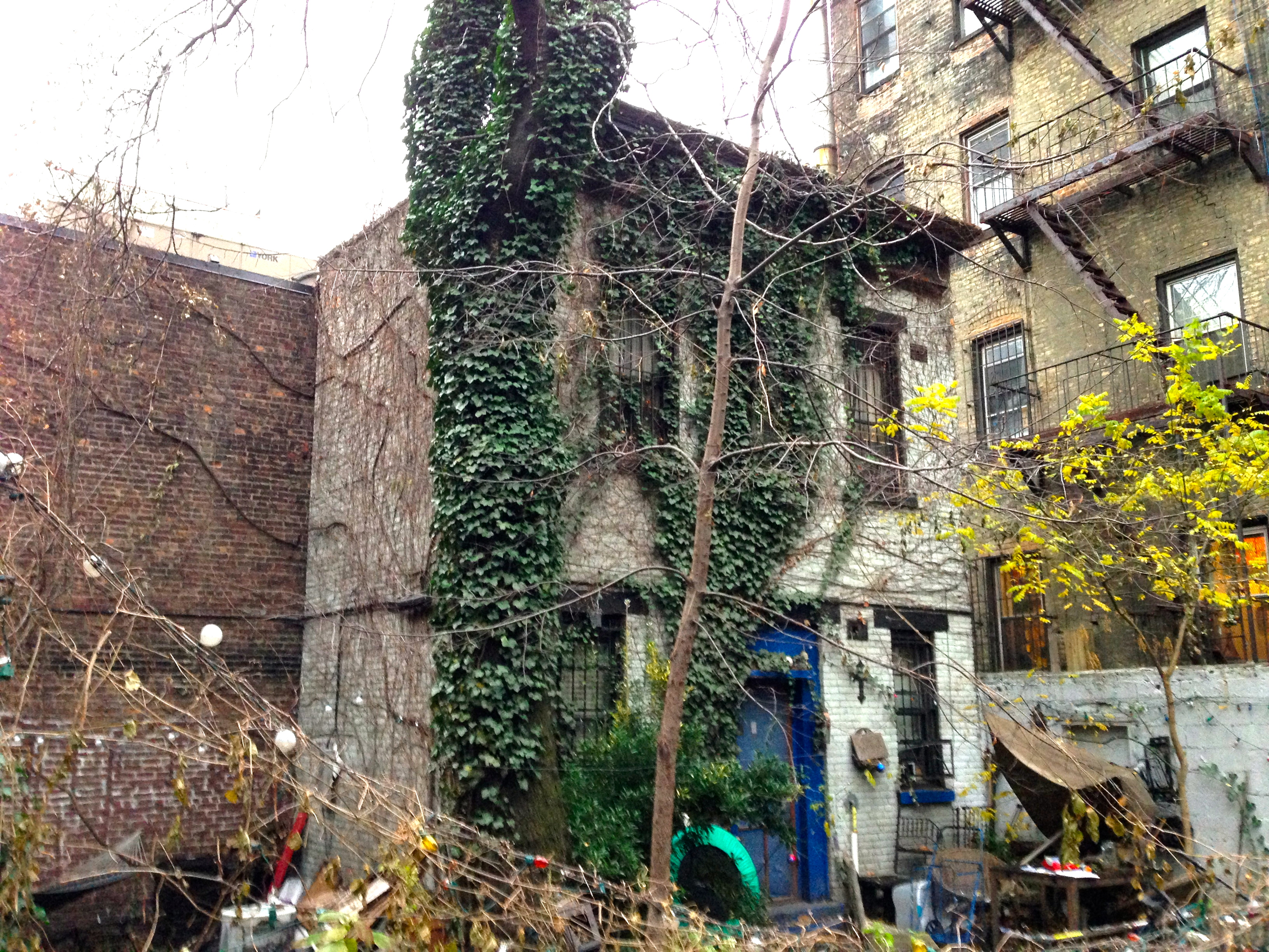greenwich village back houses