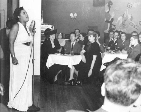 Billie Holiday In New York City Ephemeral New York