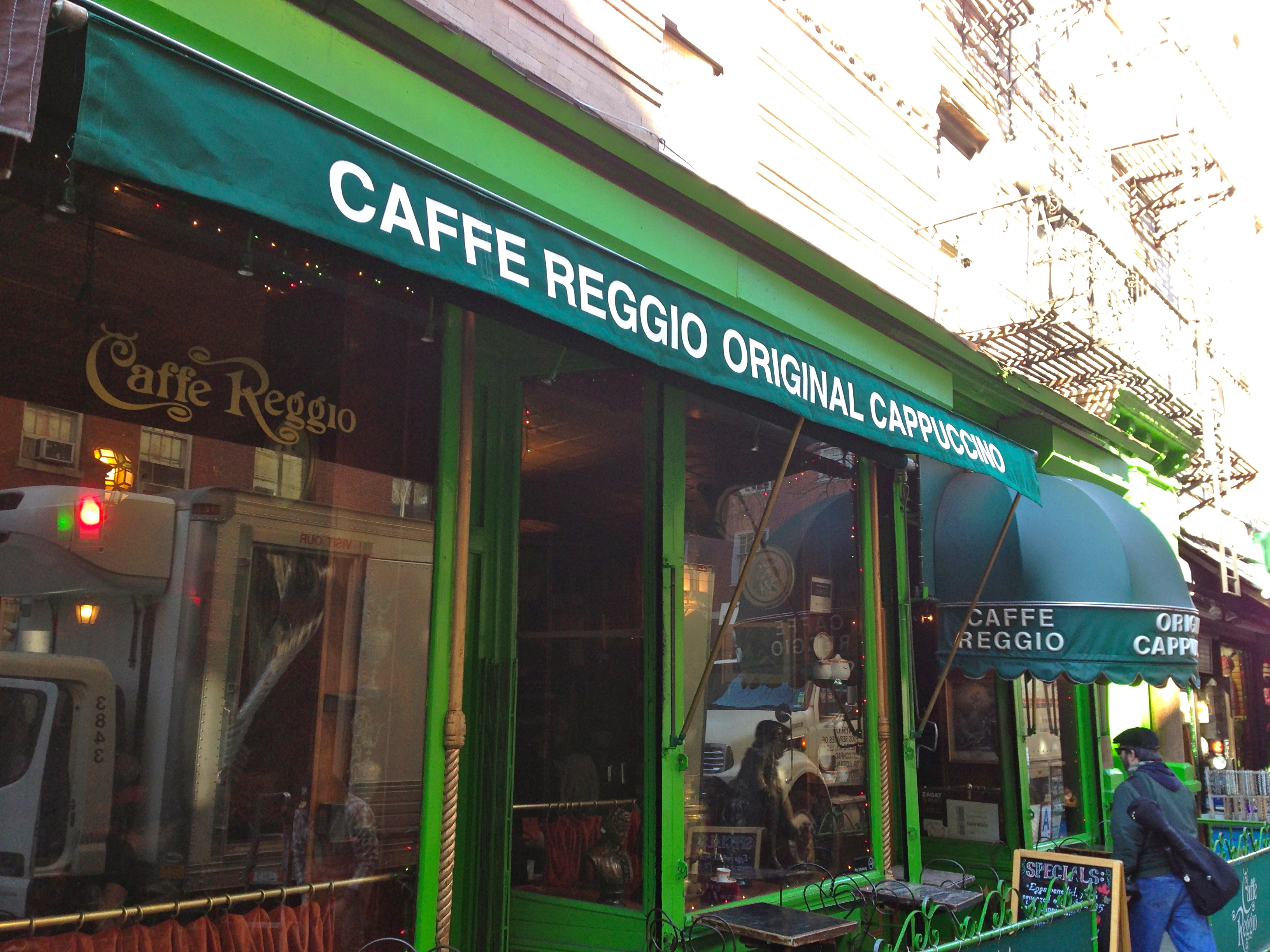 What to do in Greenwich Village Faviana caffe reggio poets