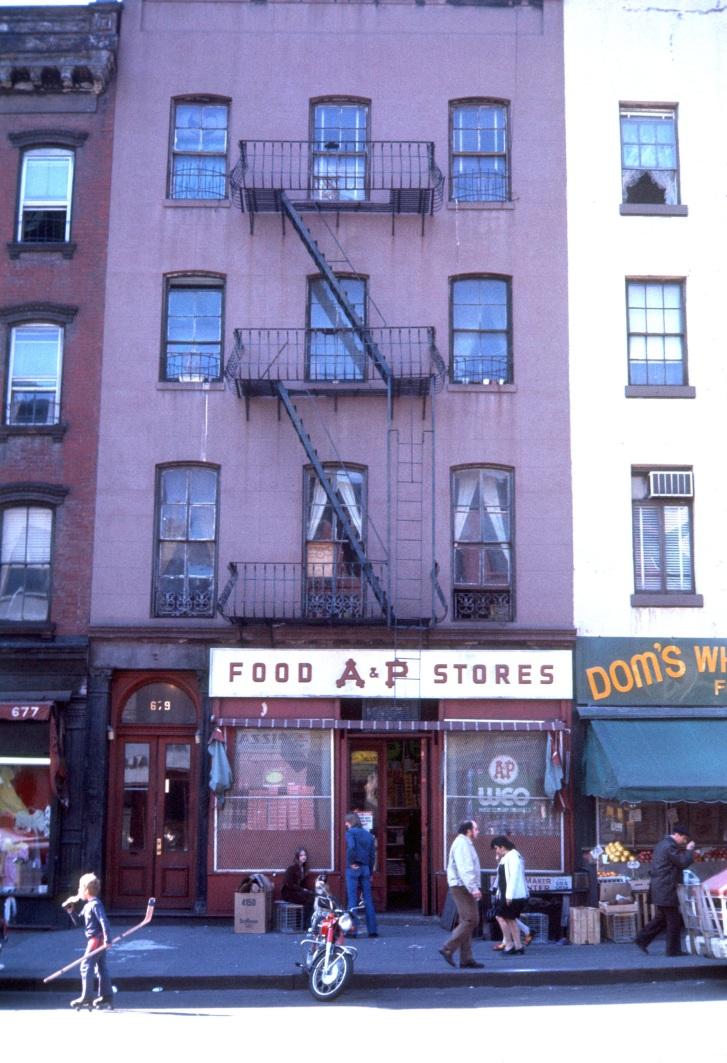 Hell Kitchen Ephemeral New York