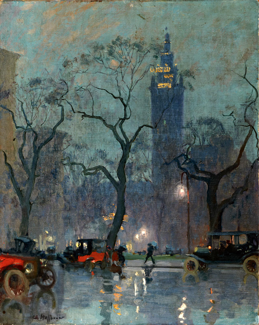 French artist's moody, magical New York   Ephemeral New York