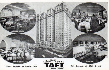 Tafthotelpostcard