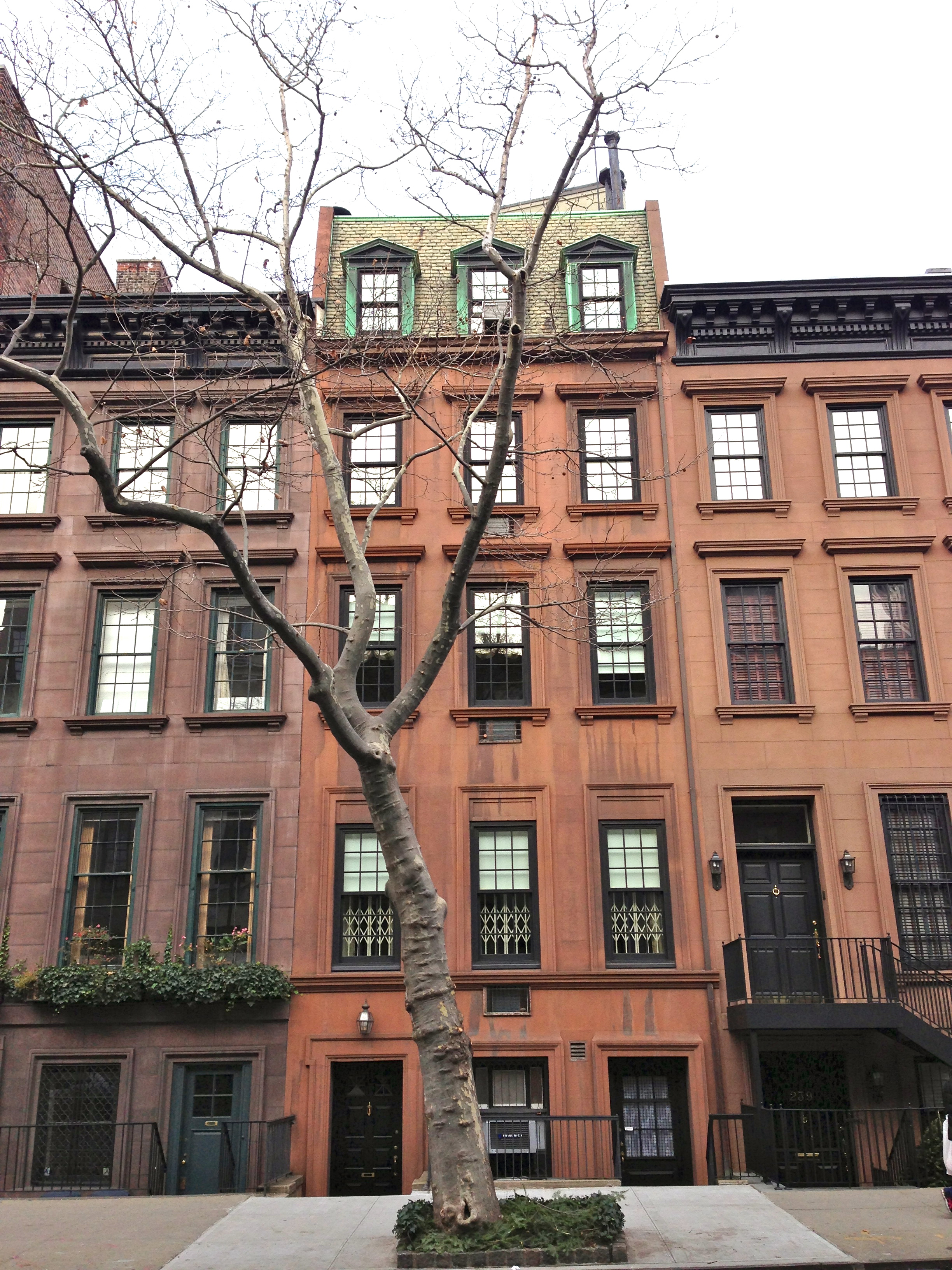 brownstones on Upper East Side | Ephemeral New York