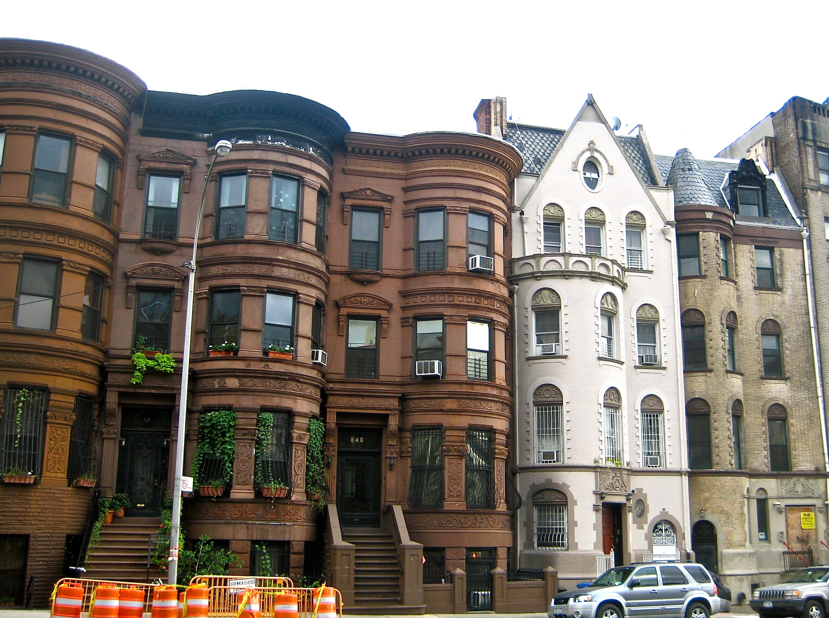 Row houses in sugar hill harlem ephemeral new york for Apartments for sale harlem
