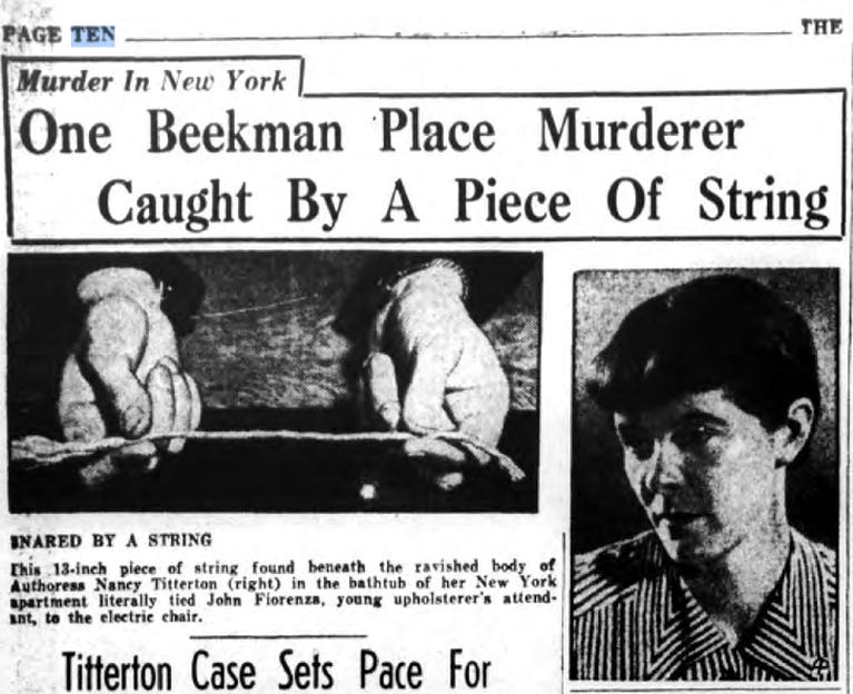famous new york murders ephemeral new york