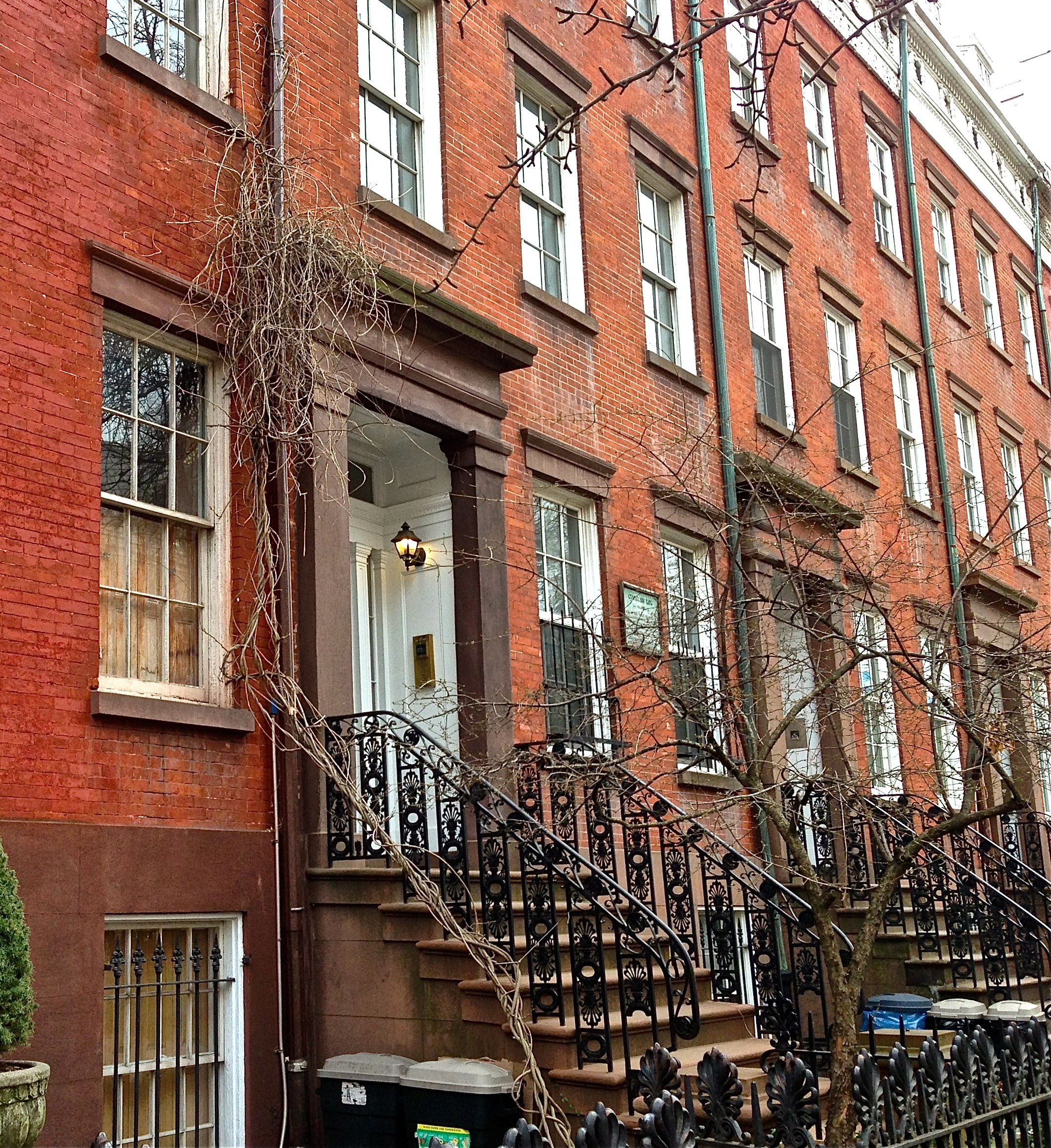 Greek revival houses new york city ephemeral new york for Modern houses in new york