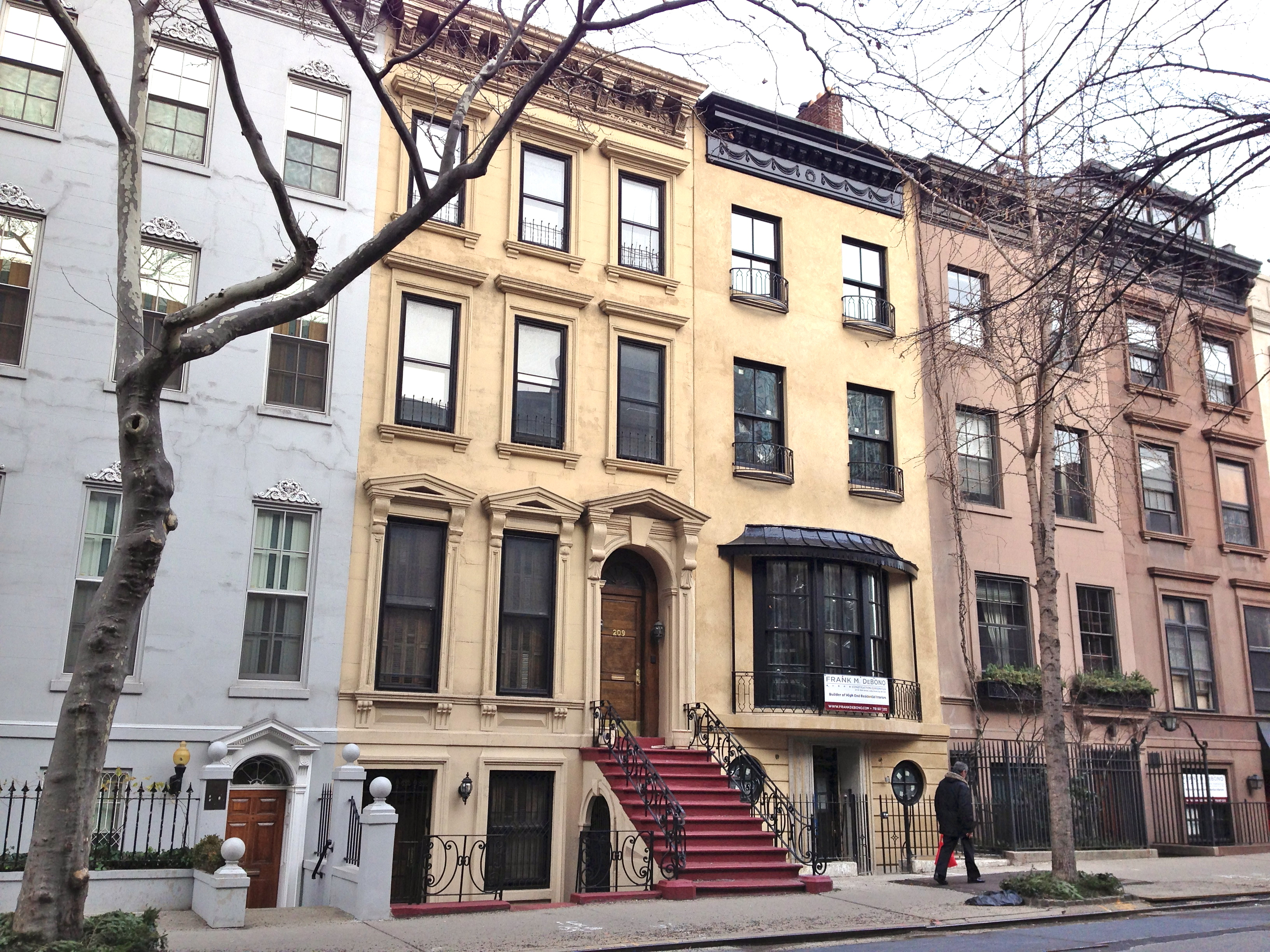 Brownstones for sale nyc ephemeral new york for New york city brownstone for sale