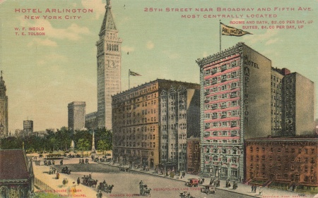 Hotelarlingtonpostcard