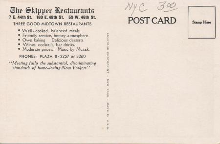 Theskipperpostcardback