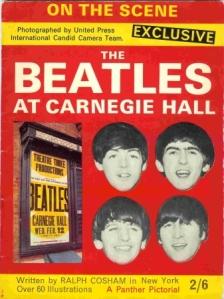 Beatlescarnegiehallposter