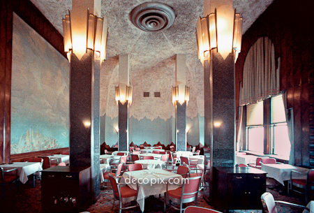 When new york power lunched at the cloud club ephemeral new york - Club deco ...