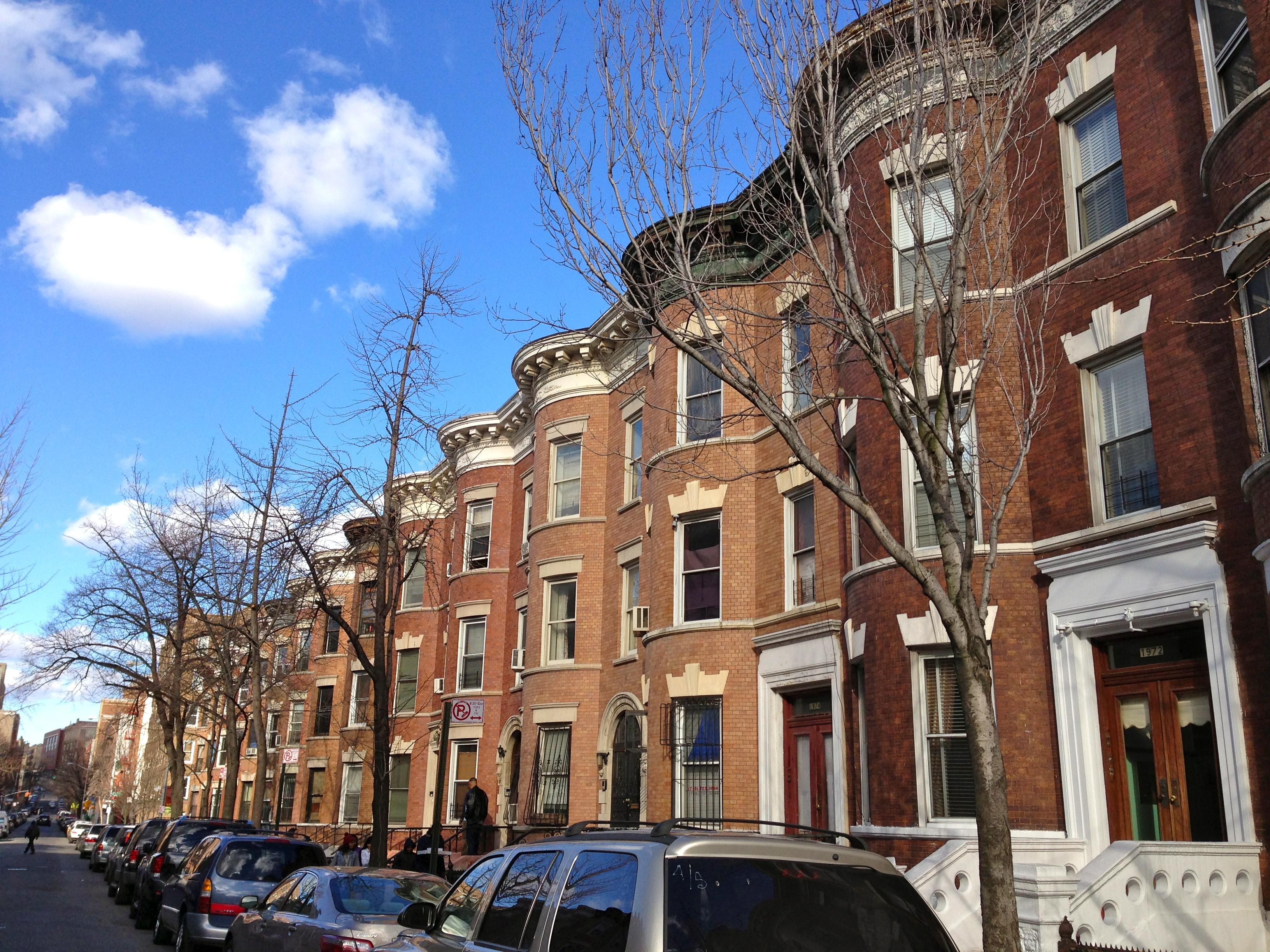 Bronx Brownstones Ephemeral New York