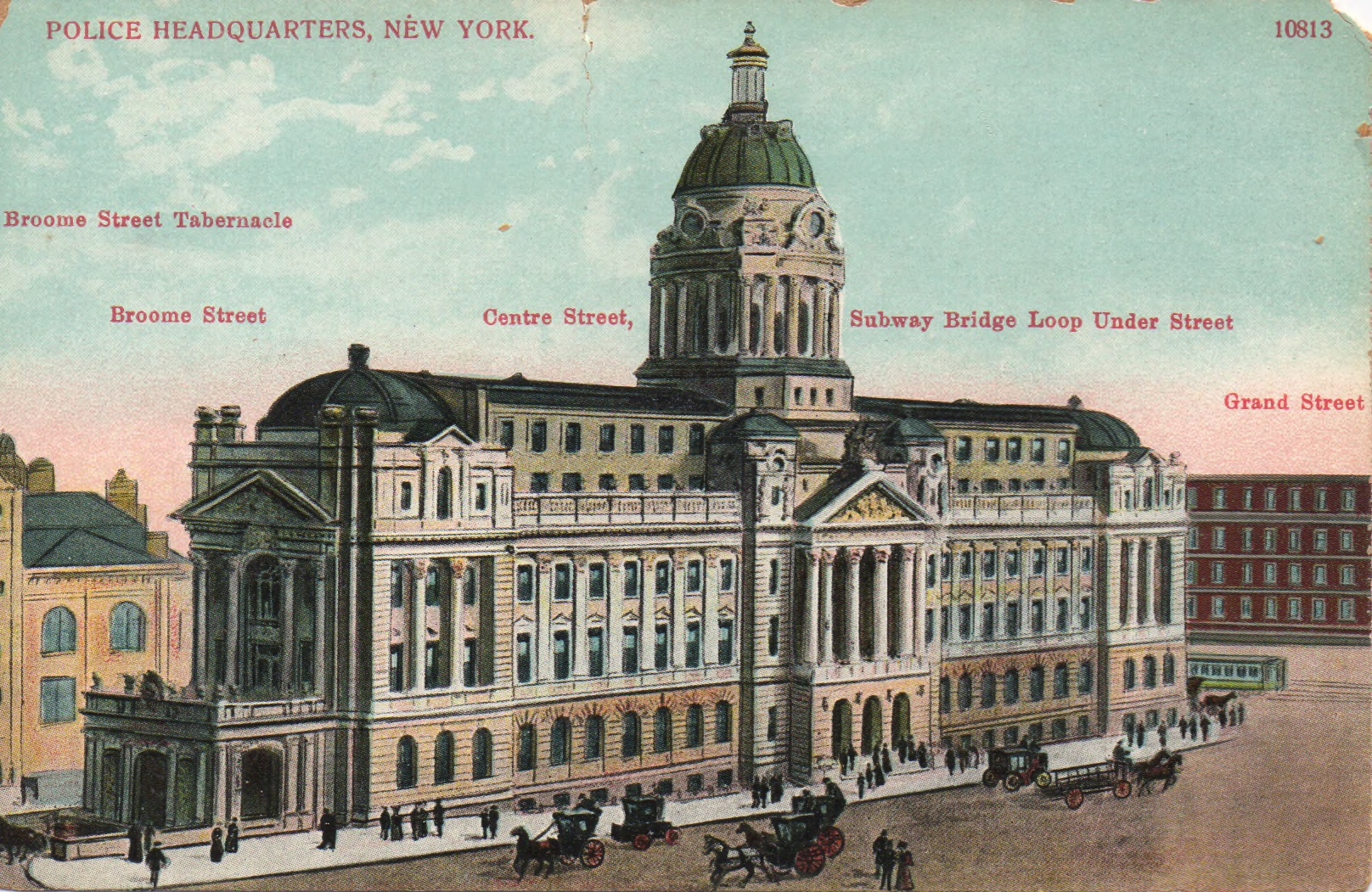 The most beautiful police headquarters ever built for Bureau new york