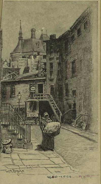 A haunted speakeasy in a Greenwich Village alley | Ephemeral