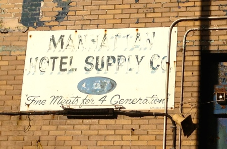 Manhattanmotelsupplycosign