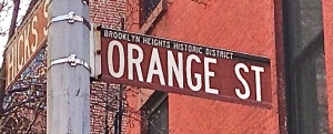 Orangestreetsign