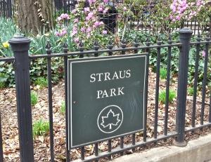 Strausparksign