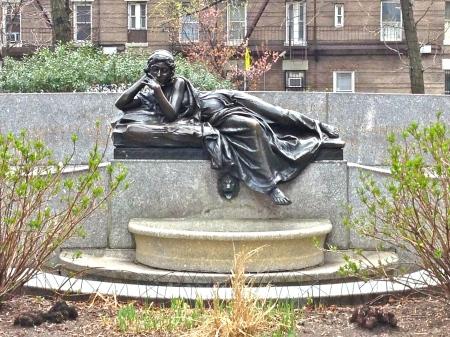 Strausparkstatue