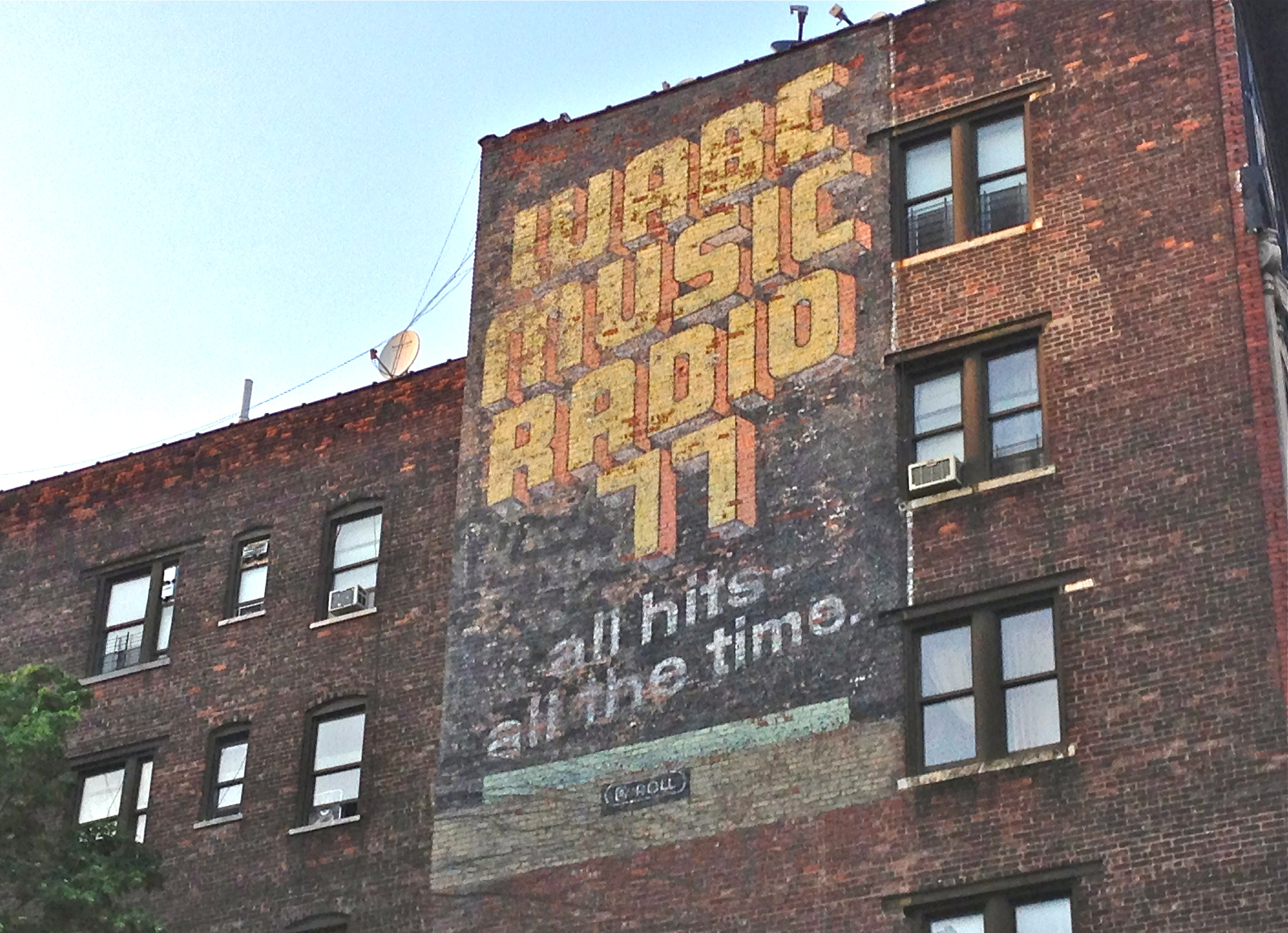 77radiofadedad faded ads in New York City  Ephemeral