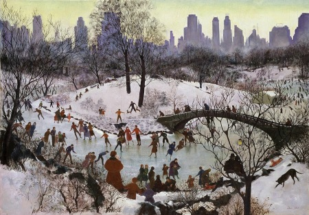 Agnestaitskatingincentralpark1934