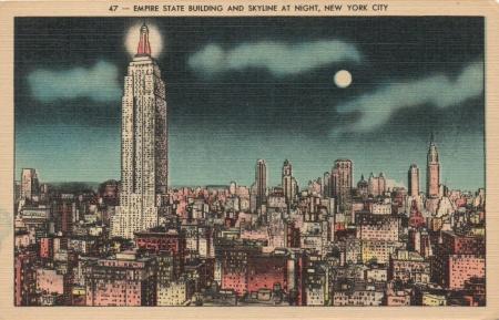 Empirestatebuildingnightpostcard