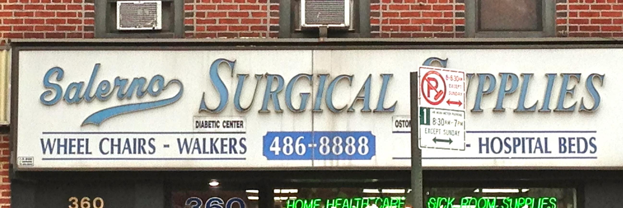 Salerno Surgical Supplies Brooklyn | Ephemeral New York
