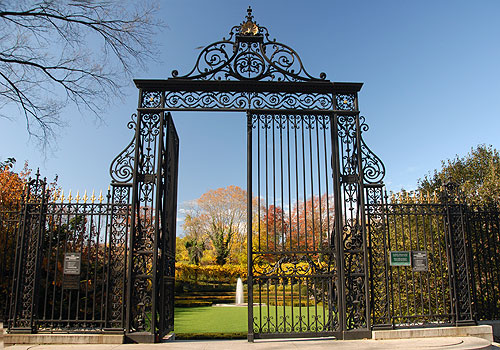 The Gilded Age Past Of A Central Park Gate Ephemeral New