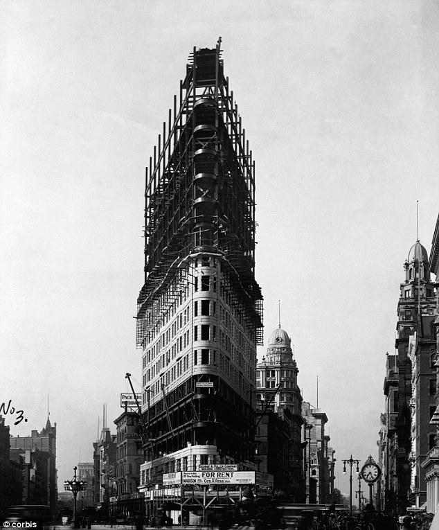 Building New York's skyscrapers | Ephemeral New York