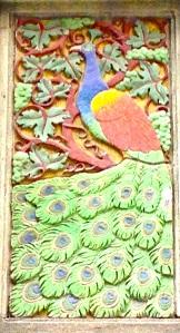 Peacockfashiontowercloseup