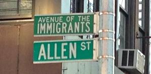 Allenstreetsign