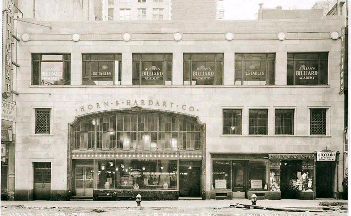 Julian's pool hall and an Automat on 14th Street | Ephemeral New ...