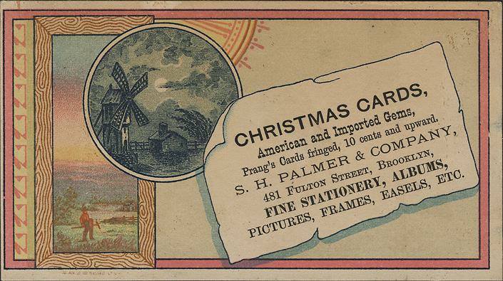 Vintage business cards ephemeral new york christmascardbrooklyn colourmoves