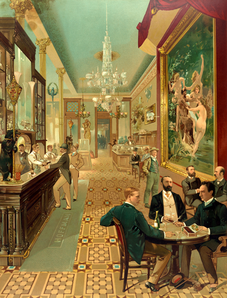 The Racy Painting At A Madison Square Bar Ephemeral New York