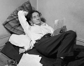 Max Bodenheim Relaxing on a Mattress