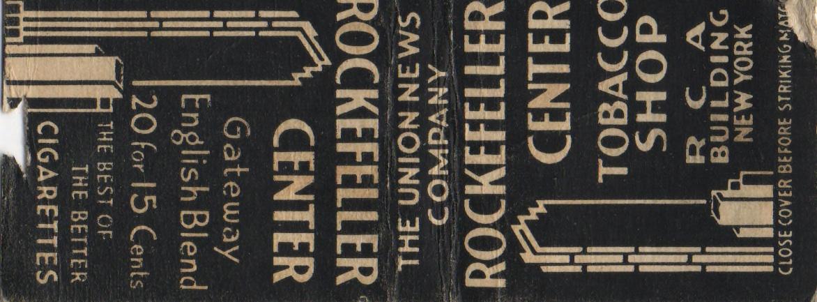Old Print Ads Ephemeral New York