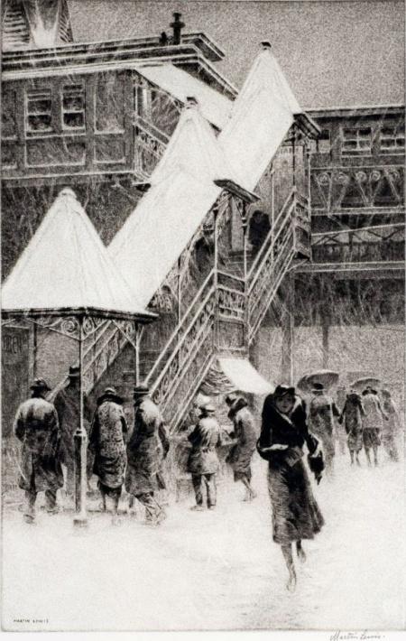 Snowontheelmartinlewis1931