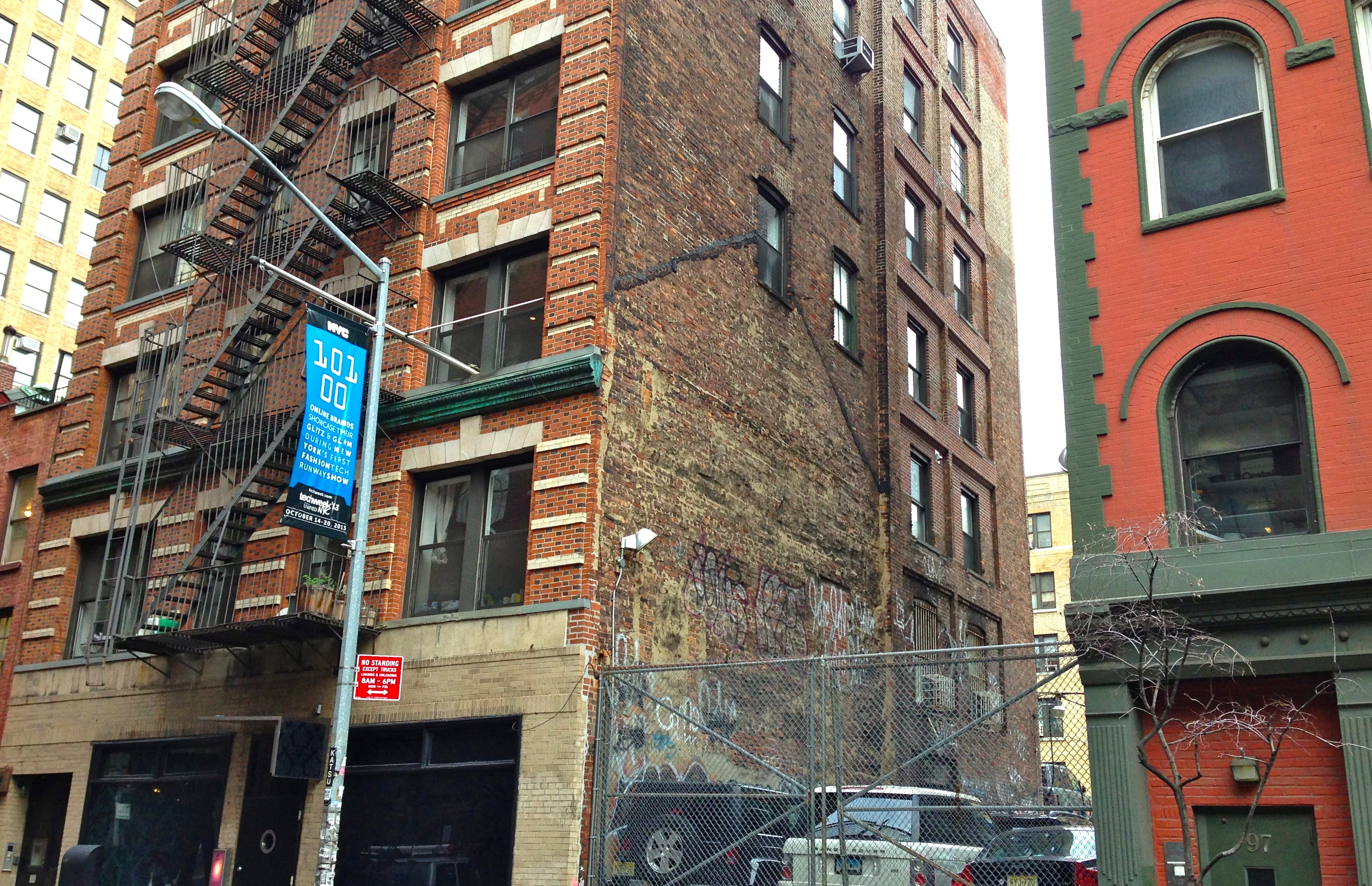 Old building outlines new york ephemeral new york