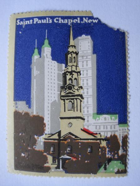 StPaulschapelposterstamp