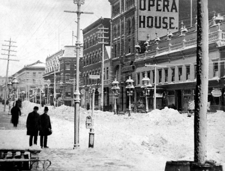 Blizzard of 1888 Bdwy at 31st St.