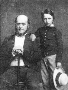 Henryjameswithfather1854