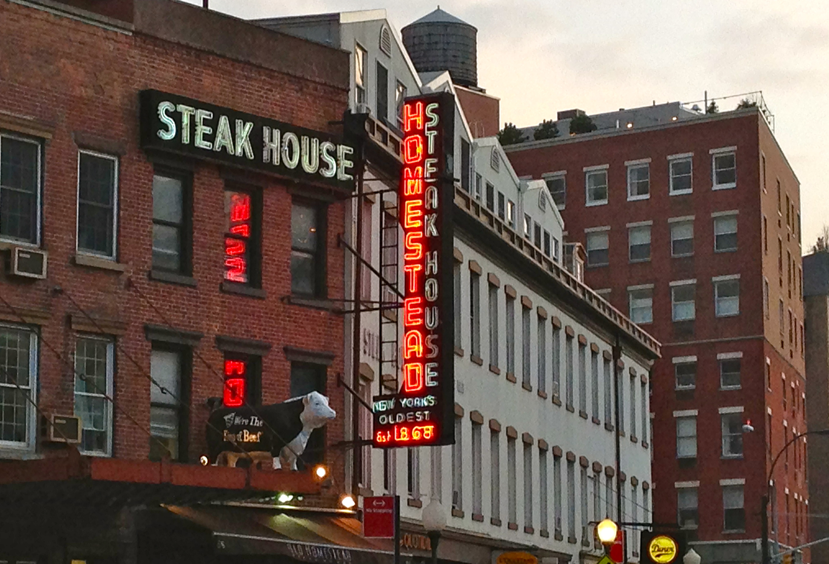 Old Homestead Steakhouse Meatpacking District Ephemeral New York