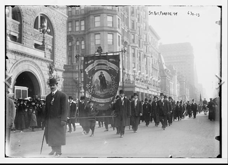 Stpatricksdayparade1913
