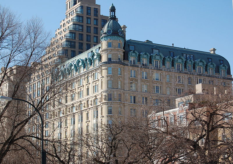 First apartment buildings new york ephemeral new york for Central park apartment new york