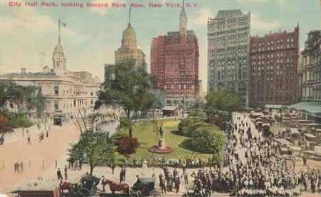 City Hall Park 1912 2