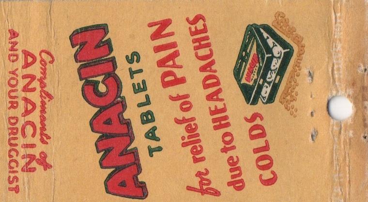 Anacin vintage ads | Ephemeral New York