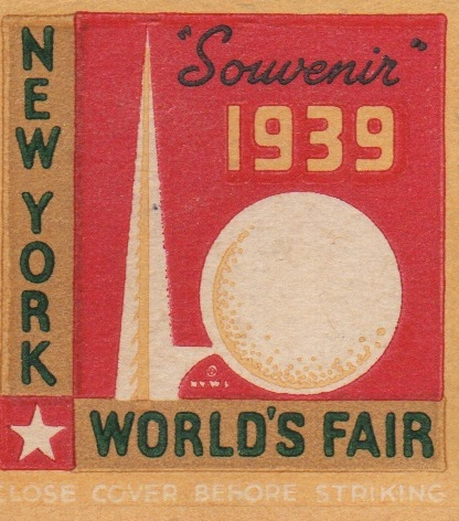 Worldsfair1939matchbook